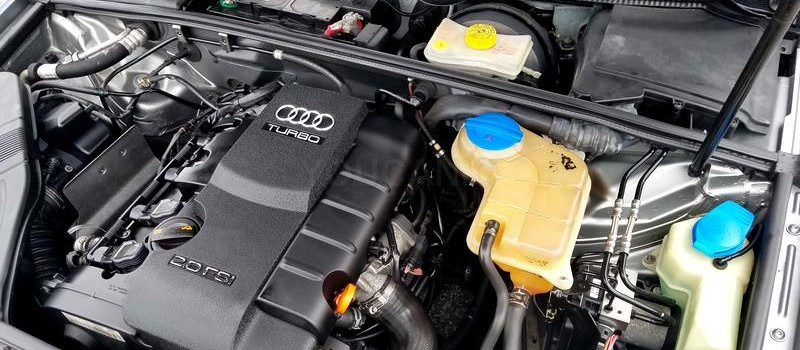 Audi How to Check Oil Level | Add Engine Oil