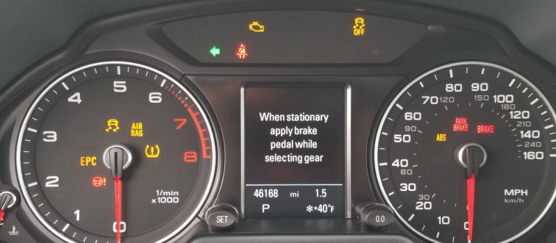 Audi Warning Lights