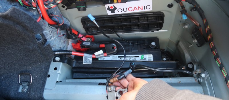How to register program code a new BMW battery