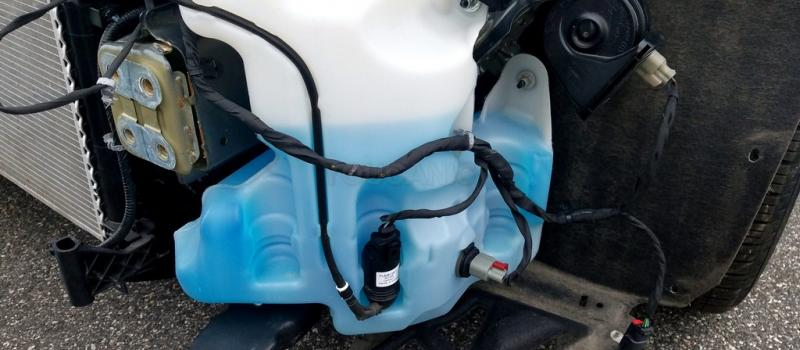 How to Add Windshield Washer Fluid to Chevrolet Vehicles