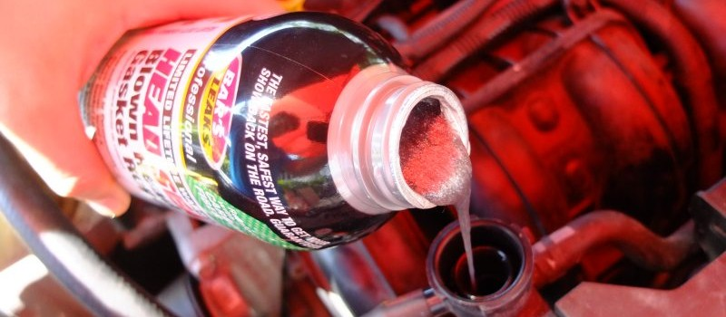 How to use a Head Gasket Repair Sealer