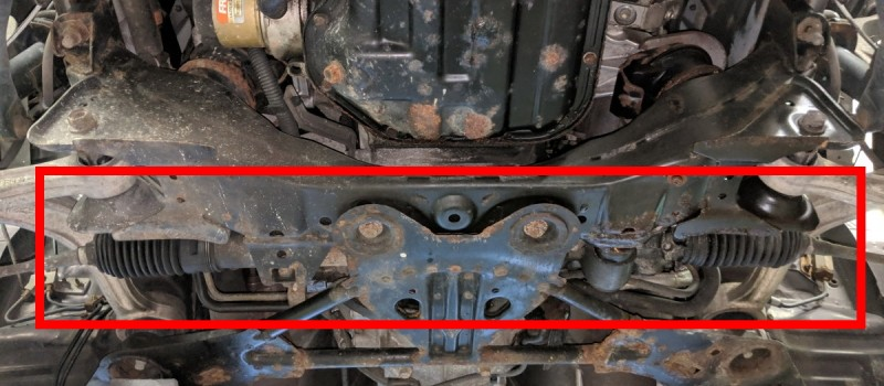 Sign of Steering Rack Failure & Problems