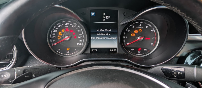 Mercedes-Benz Dashboard Warning Lights