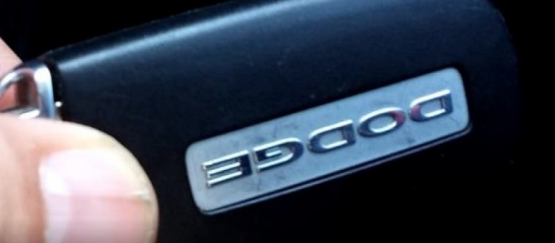 Dodge Key Fob Battery Replacement Instructions