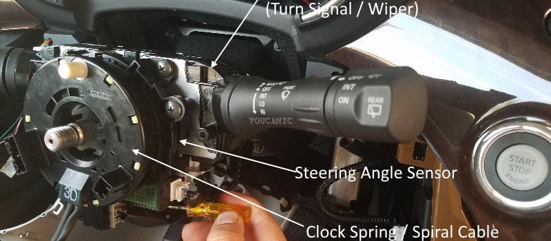 How to Change Nissan  Clock Spring | Steering Angle Sensor