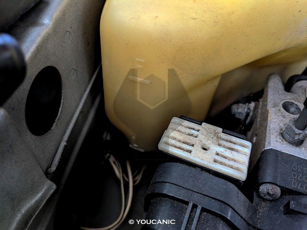 Lexus coolant reservoir level