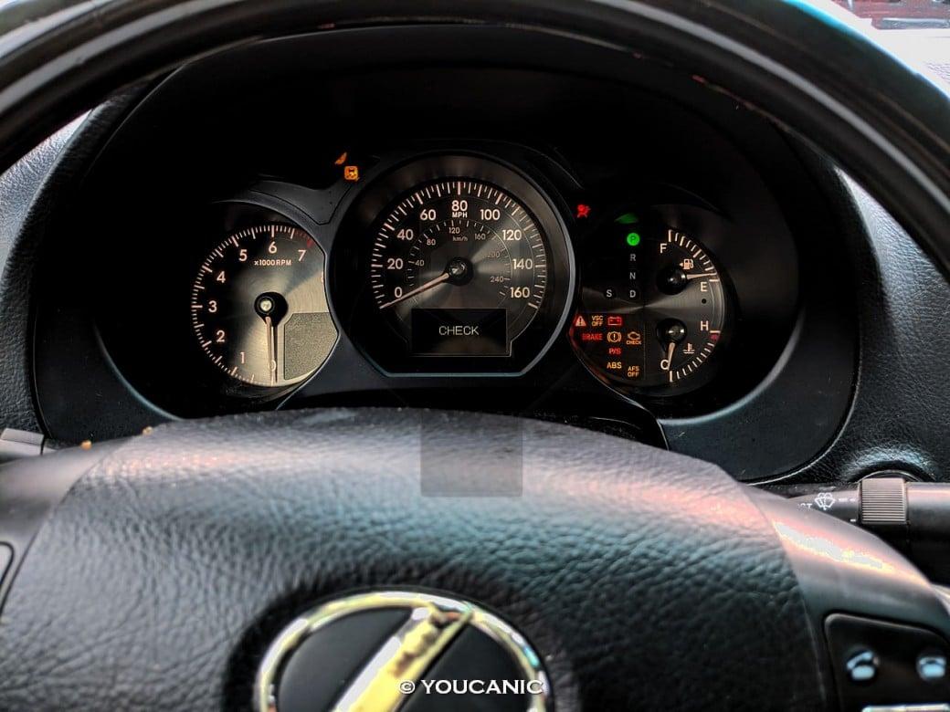 2007 Lexus GS 350 Warning Lights