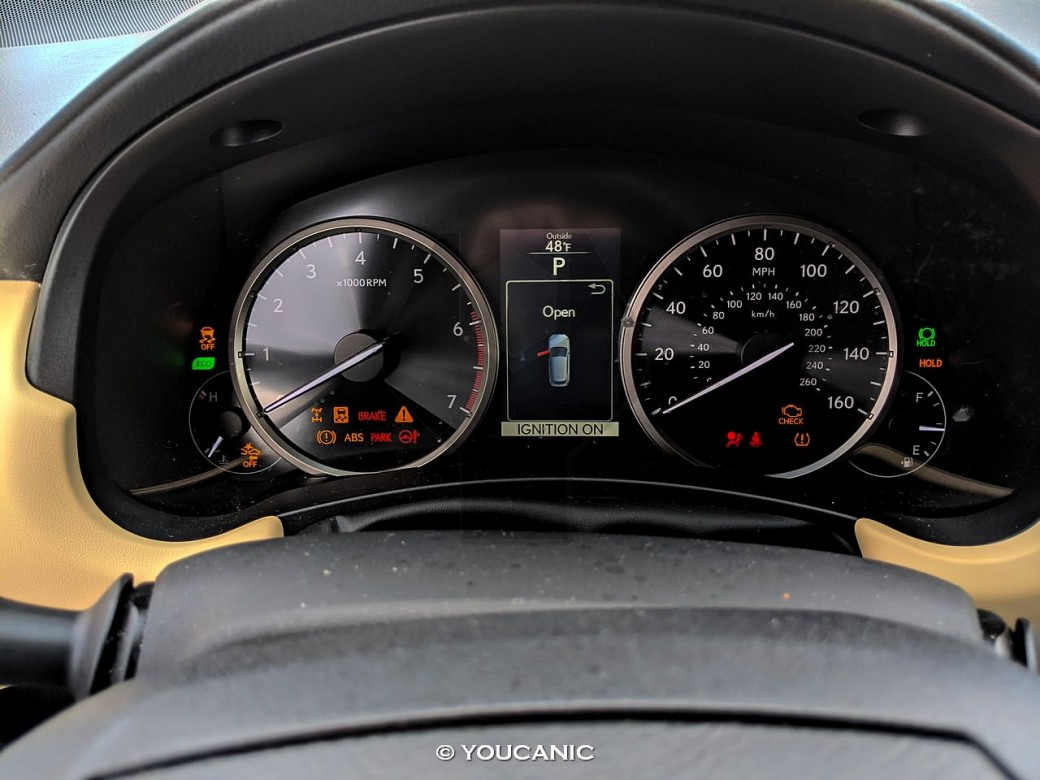 2015 Lexus NX 200 Warning Lights