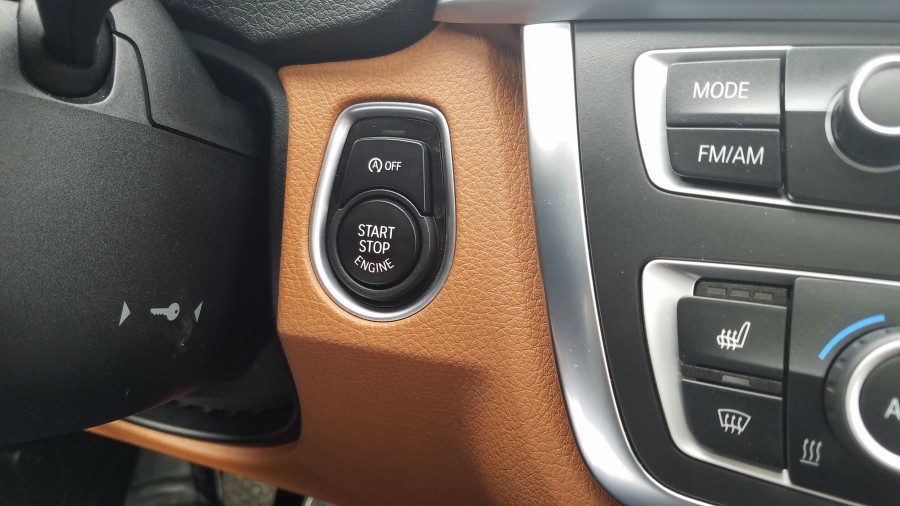 bmw start button