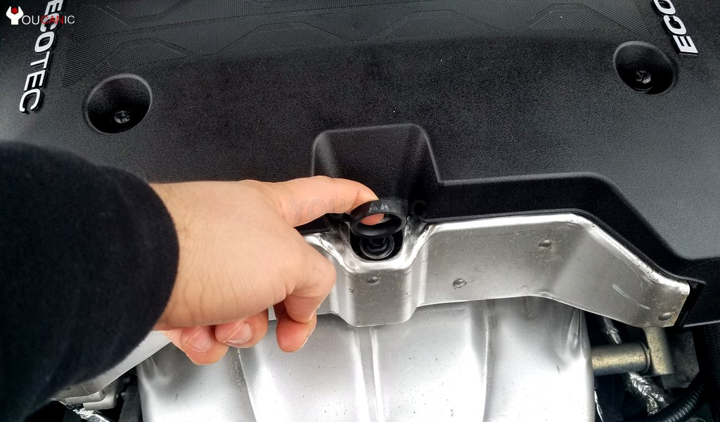 2014 Chevrolet Malibu Dipstick Location