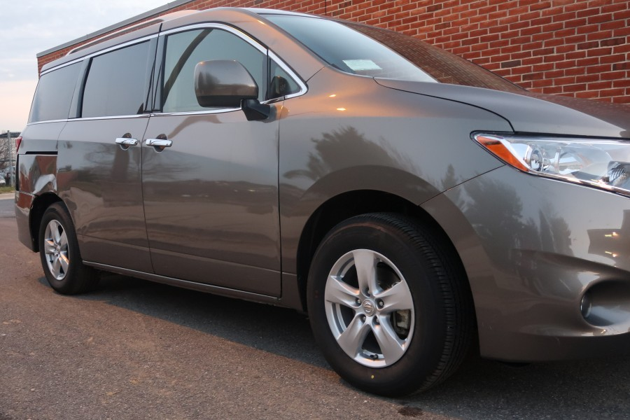 park nissan quest to change side view mirror