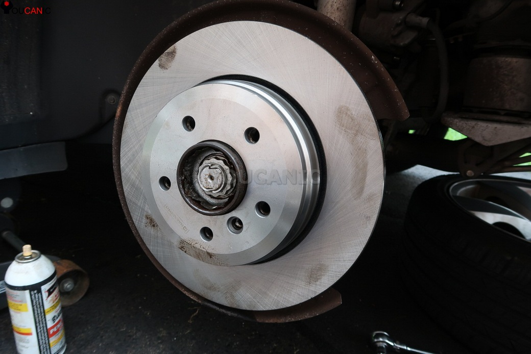 Installed New BMW Rotor