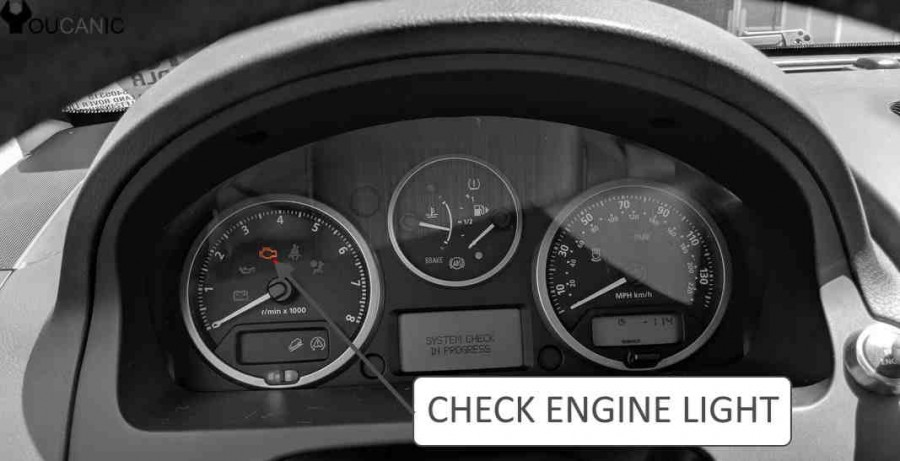chrysler check engine light