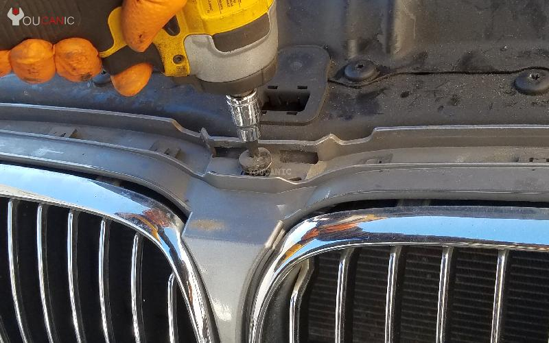 How To Change the Kidney Grille for the BMW 5 Series
