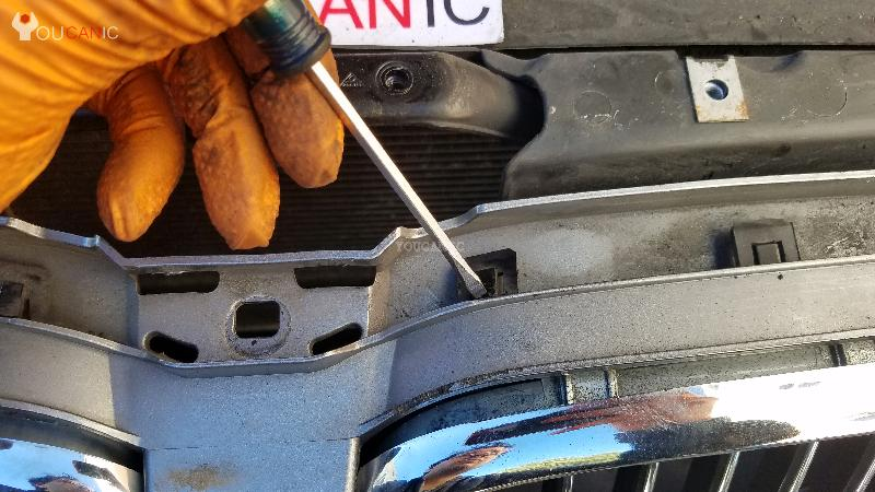 trick on how to remove bmw grill
