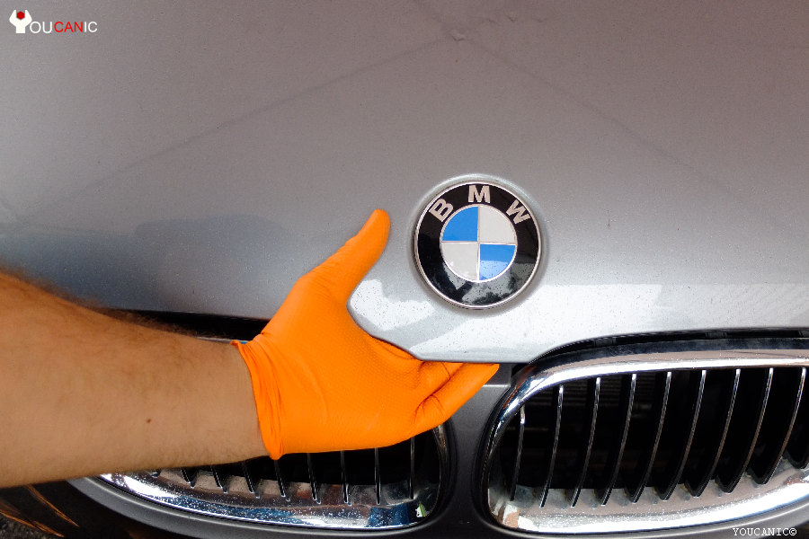 how to fix bmw hood won't stay up