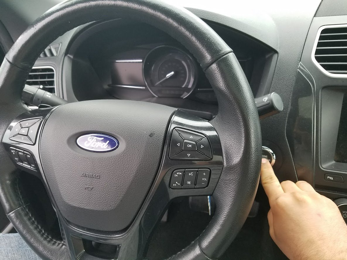 turn on ignition to read ford check engine light