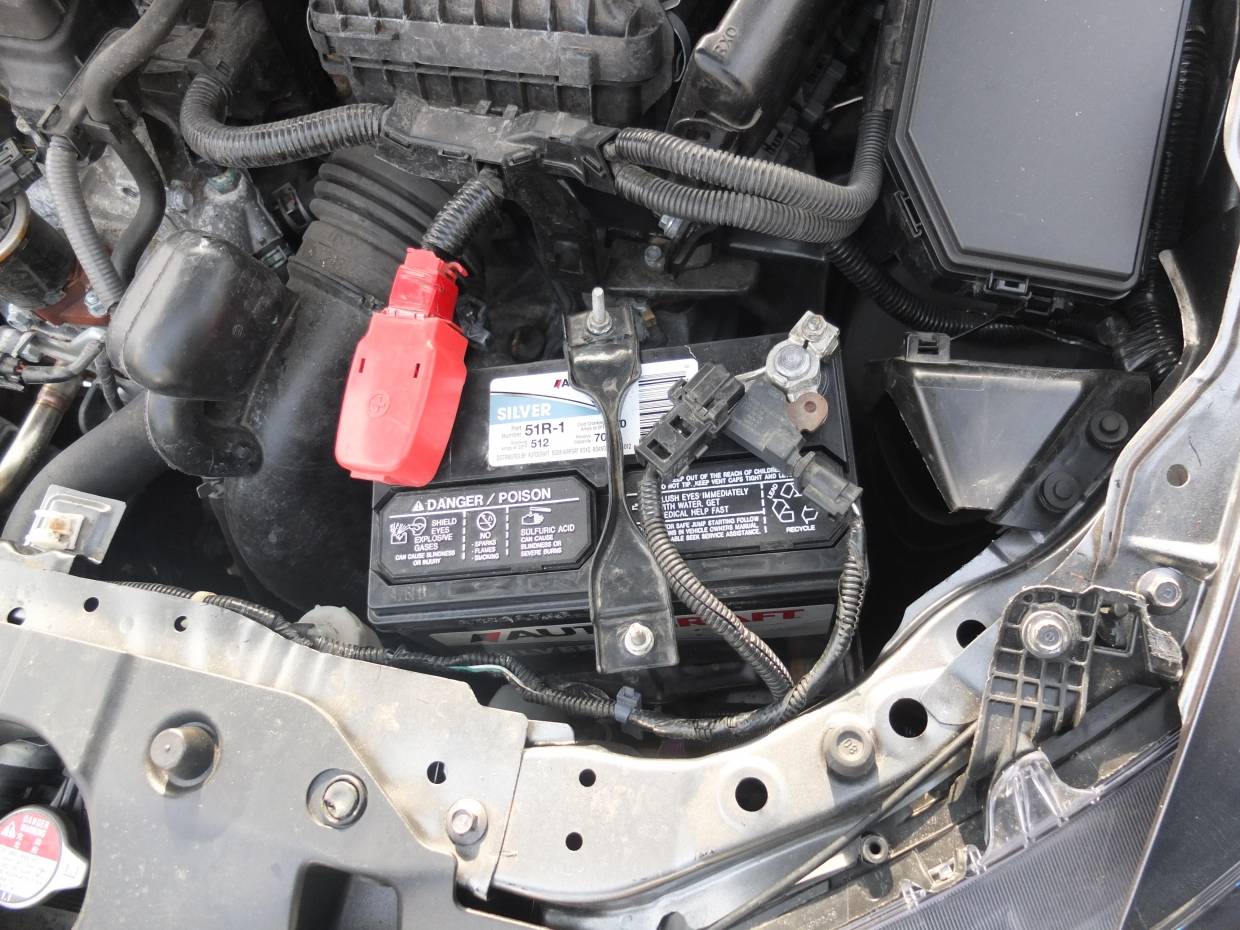 honda battery connect after changing clock spring
