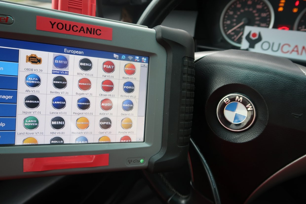 diagnose bmw ibs sensor with an obd2 scanner