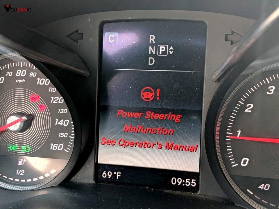 mercedes Steering Malfunction See Operator's Manual