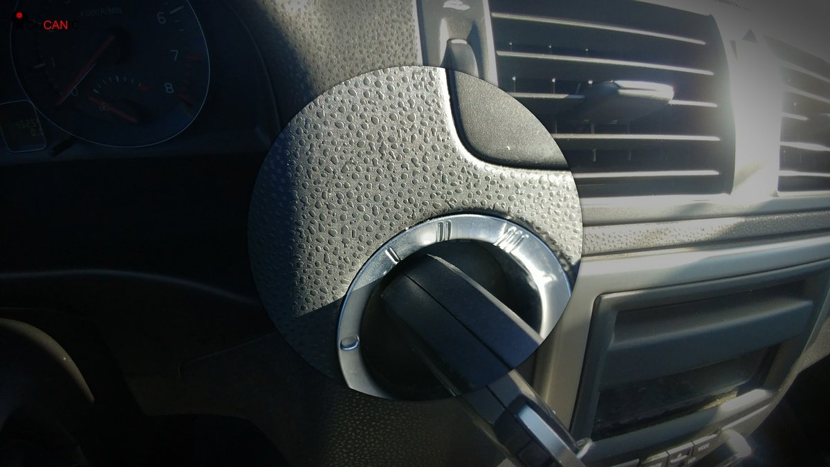 Volvo key position two
