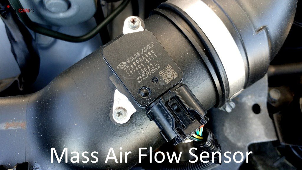 subaru check engine light causes maf sensor