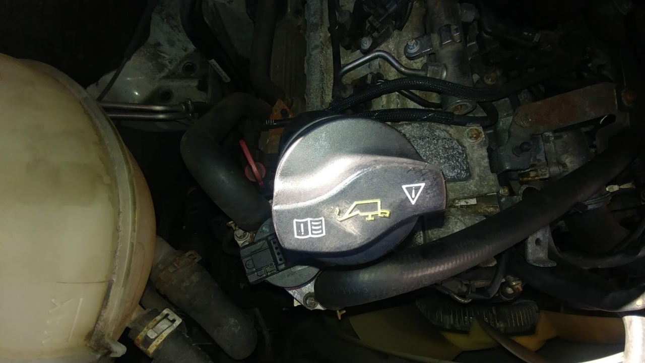 sprinter oil filter cap