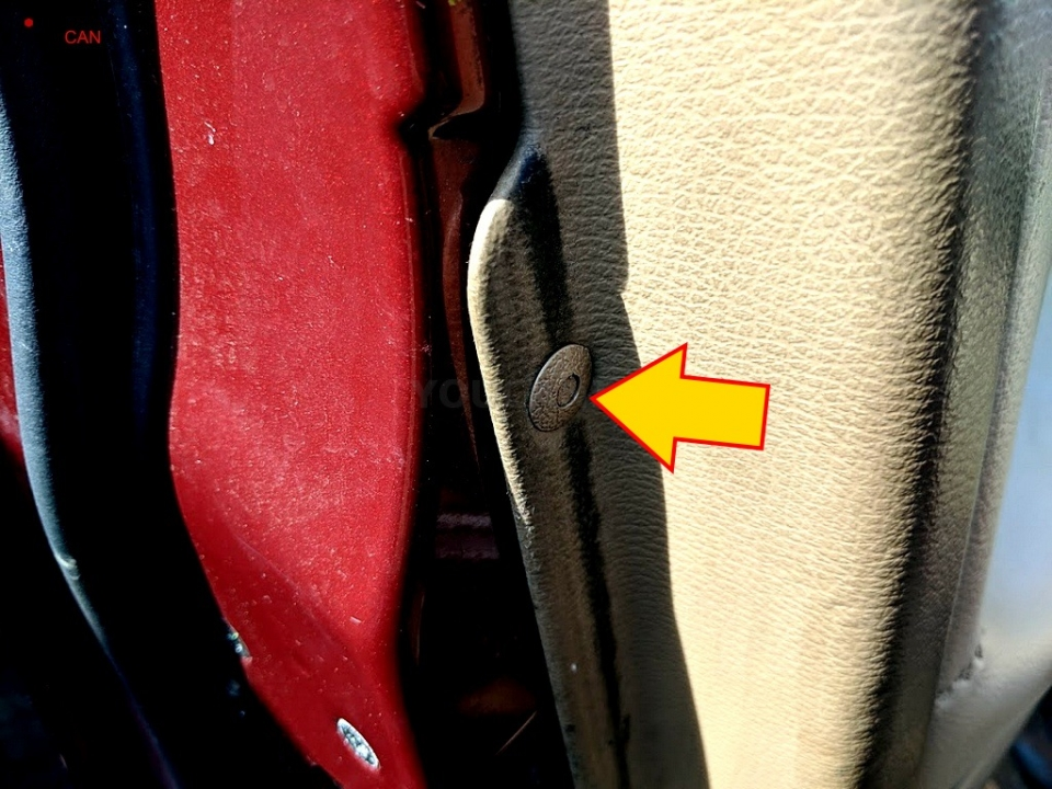 pushpin volvo s40 side mirror replacement
