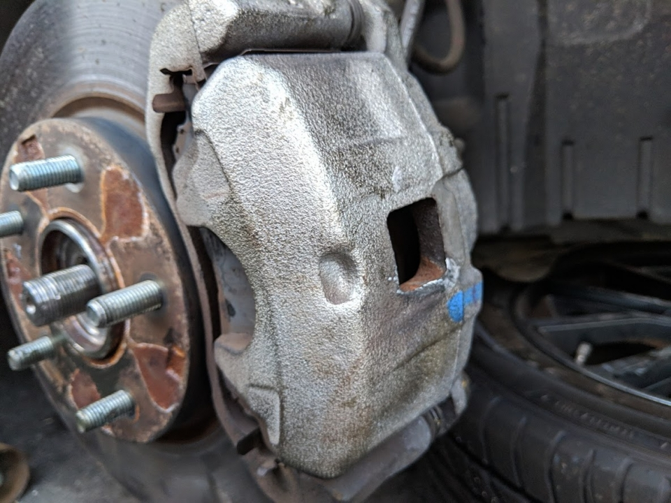 remove mitsubishi wheel abs speed sensor