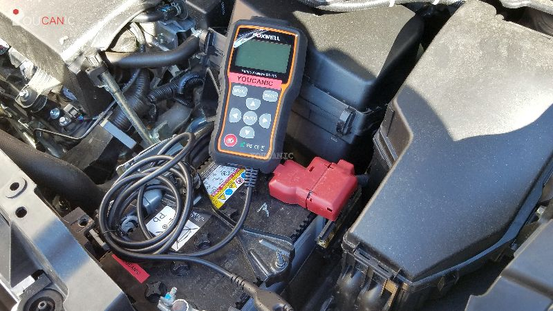 test volvo battery as it can be the cause of low battery warning