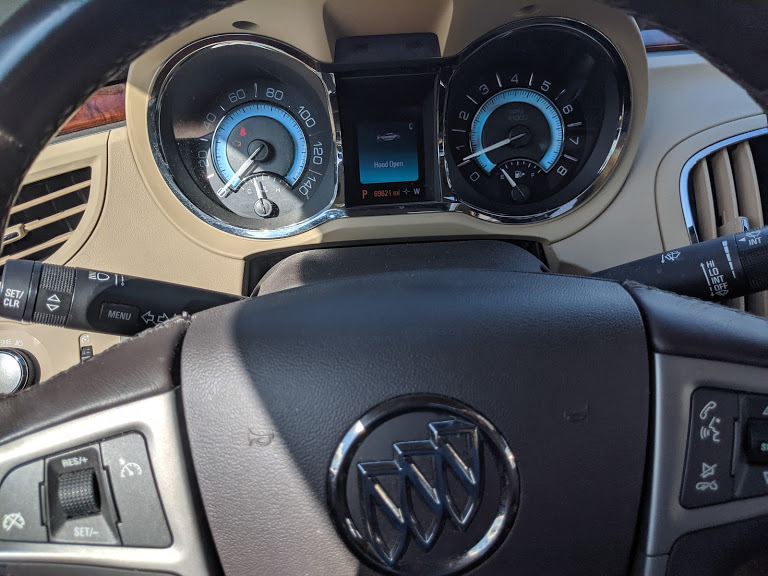 turn on buick igntion to read check engine fault codes cel ses
