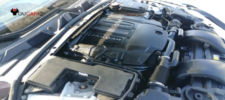 How to check Oil Level / Add Oil Jaguar XF