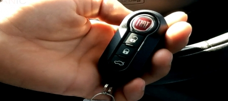 How to change key fob battery Fiat vehicles