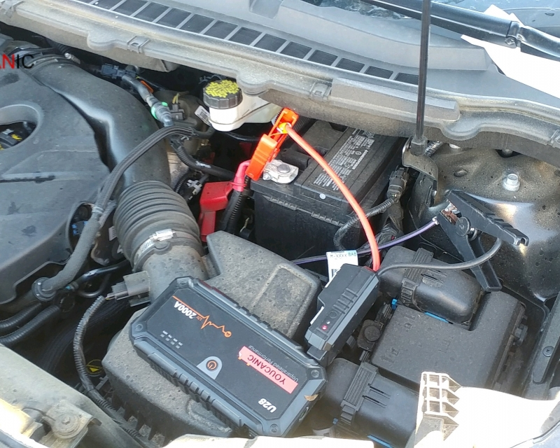 How to jump start Ford Edge dead battery
