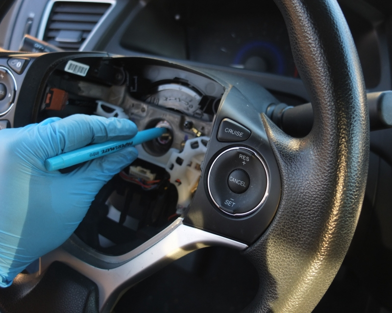 Honda Steering Wheel Removal Replacement
