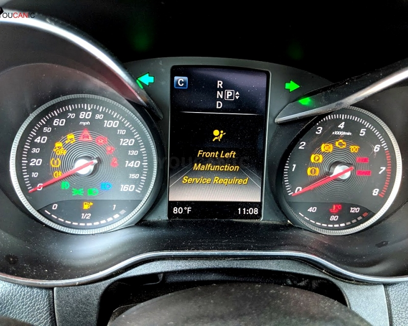 Mercedes-Benz Instrument Cluster Odometer Problems Not working