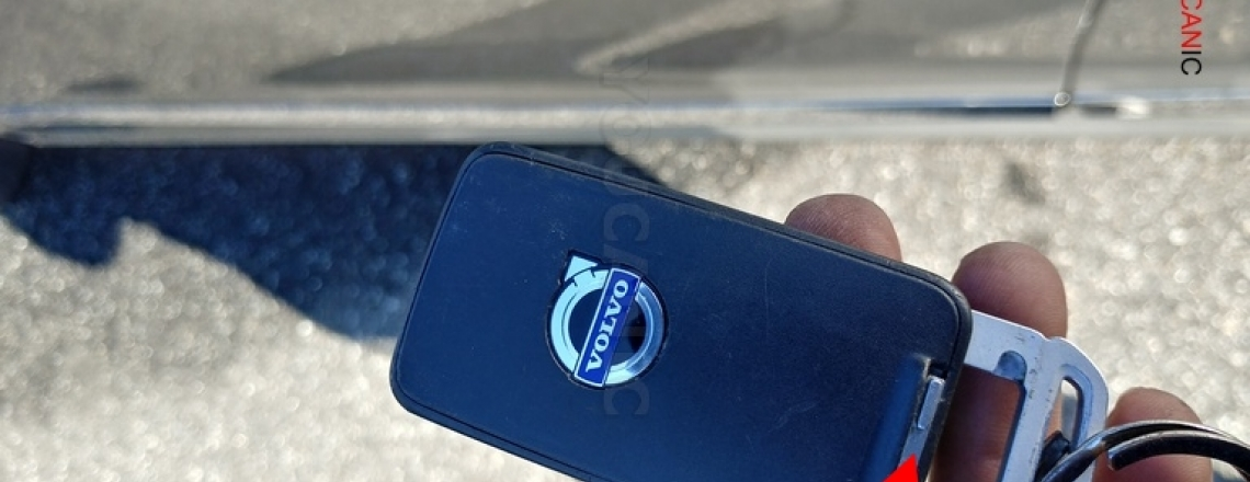How to unlock Volvo if remote isn't working or battery is dead