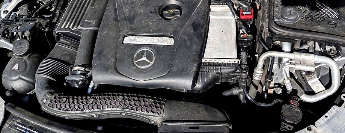2015+ Mercedes Engine Oil Change C300 E300 GLC300 DIY + Pictures
