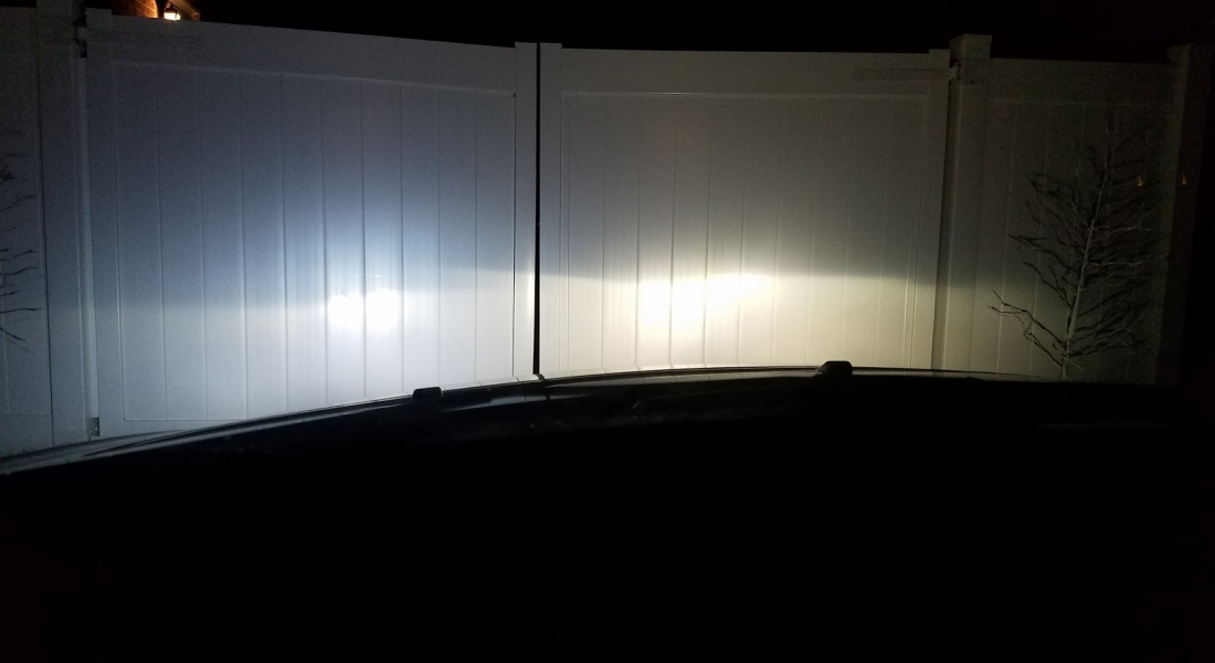 One Car Headlight is Dimmer or Different Color than other