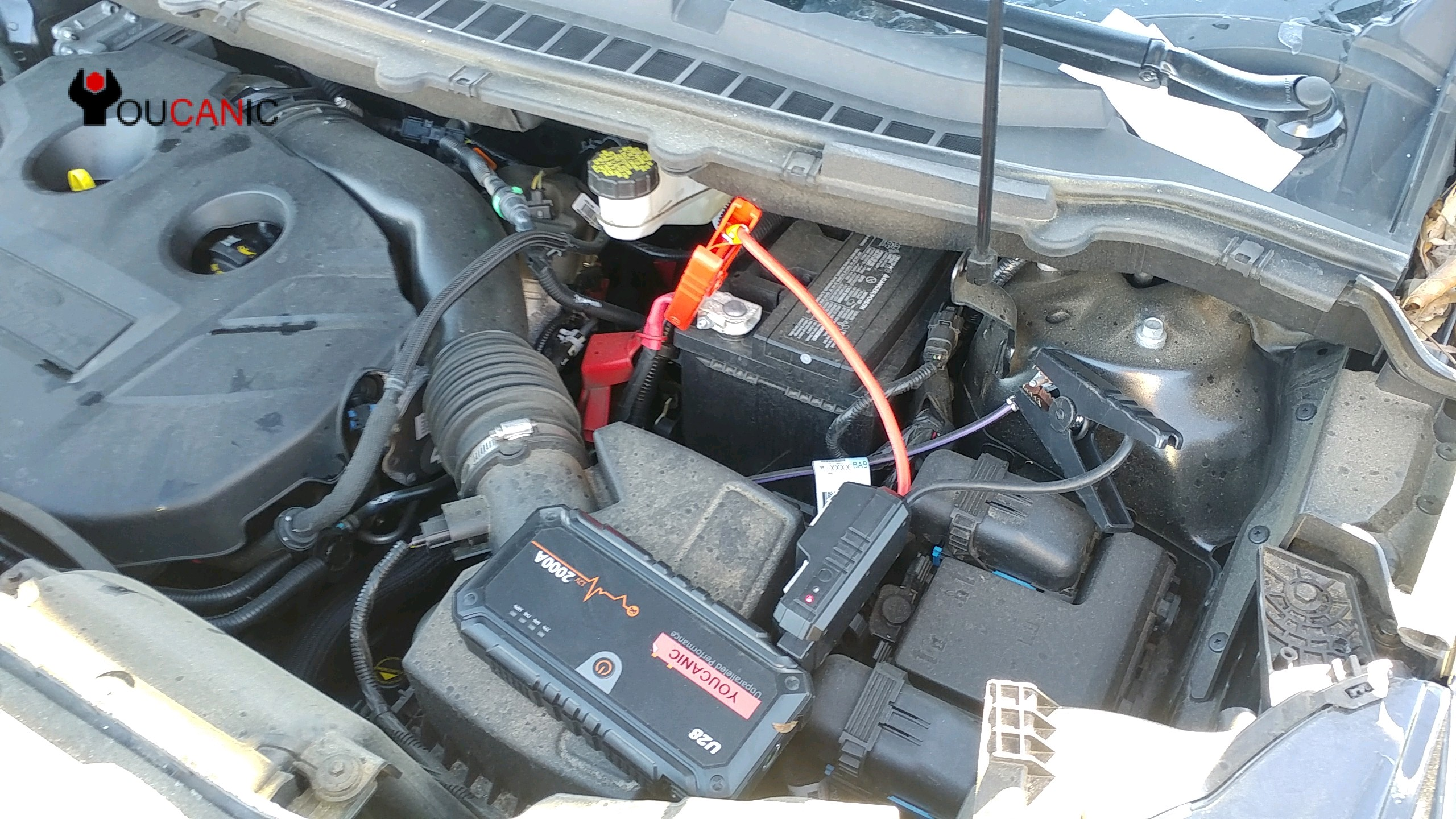 Positive Battery Terminal >> How to jump start Ford Edge dead battery