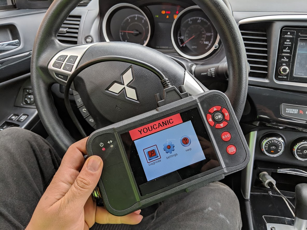Best OBD2 Scanners for Mitsubishi