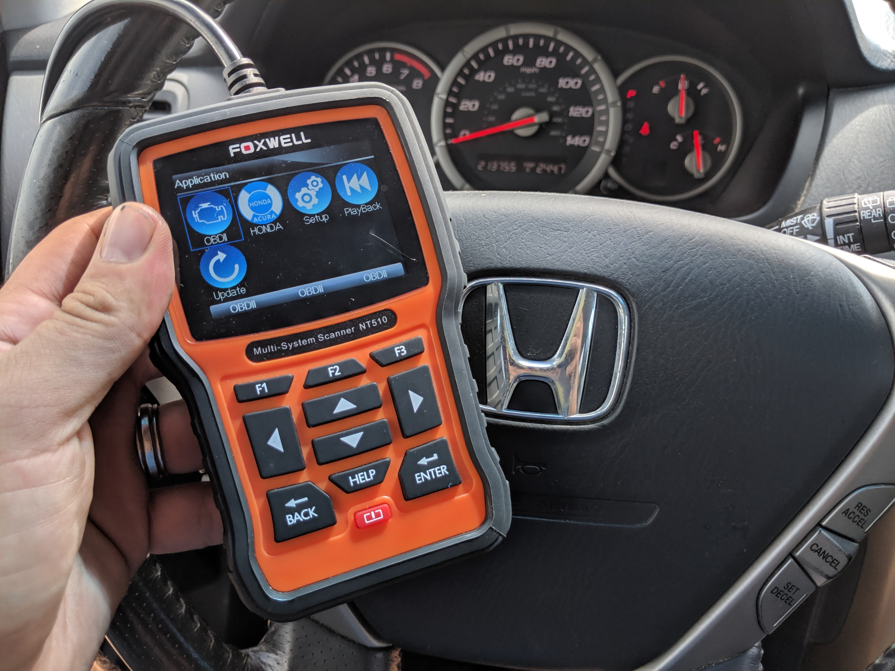 Best OBD2 Scanner for Honda and Acura vehicles