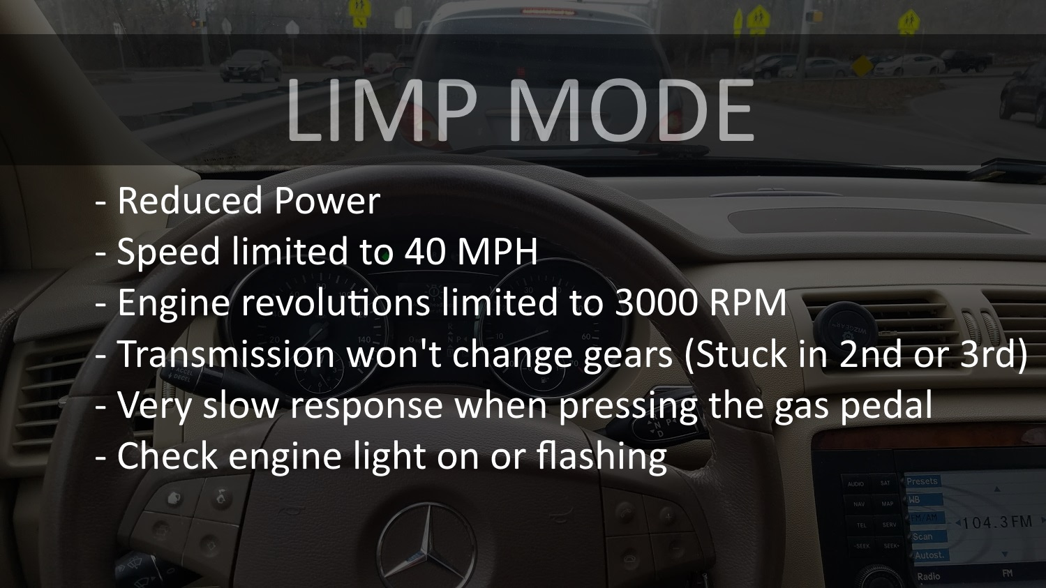 How To Bypass Limp Mode