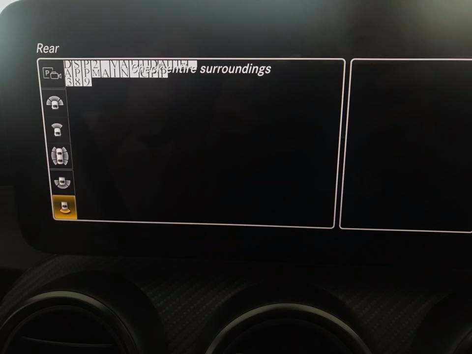 Getting this error when shift driving backward